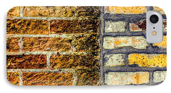 New Bricks Old Bricks IPhone Case by Lewis Mann
