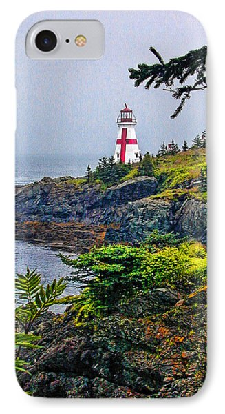 New Brunswick Lighthouse IPhone Case by Lewis Mann