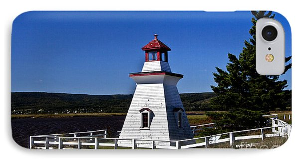 IPhone Case featuring the photograph New Brunswick Lighthouse by Shirley Mangini