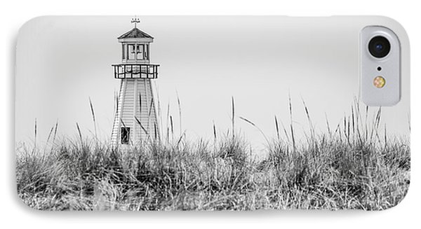 New Buffalo Lighthouse In Southwestern Michigan IPhone Case by Paul Velgos