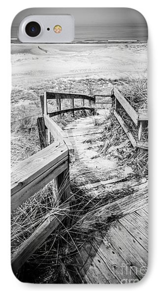 New Buffalo Michigan Boardwalk And Beach Phone Case by Paul Velgos