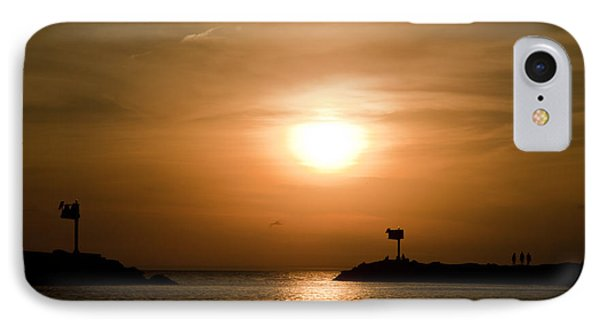 New Buffalo Sunset IPhone Case by John Crothers