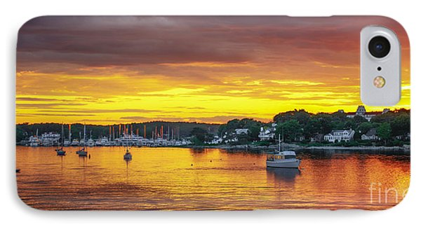 New Castle Sunset IPhone Case