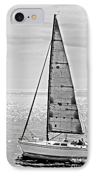 New Dawn - Sailing Into Calm Waters Phone Case by Artist and Photographer Laura Wrede