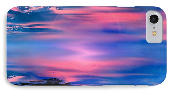 IPhone Case featuring the painting New Dawn by Yul Olaivar