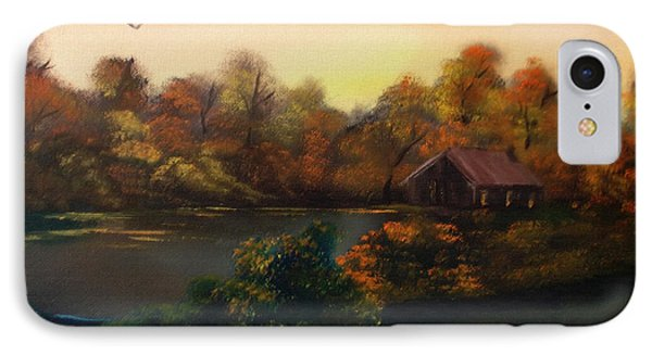 New Day In Autumn Sold Phone Case by Cynthia Adams