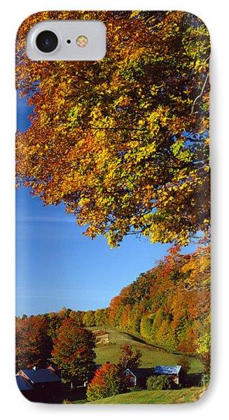 New England Autumn IPhone Case
