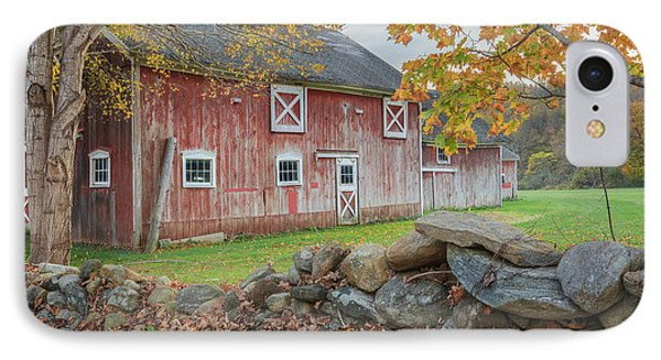 New England Barn IPhone 7 Case by Bill Wakeley