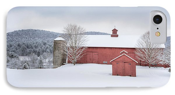 New England Barns IPhone Case