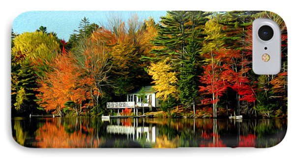 IPhone Case featuring the photograph New England by Bill Howard