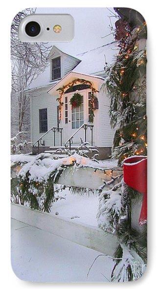 New England Christmas IPhone Case