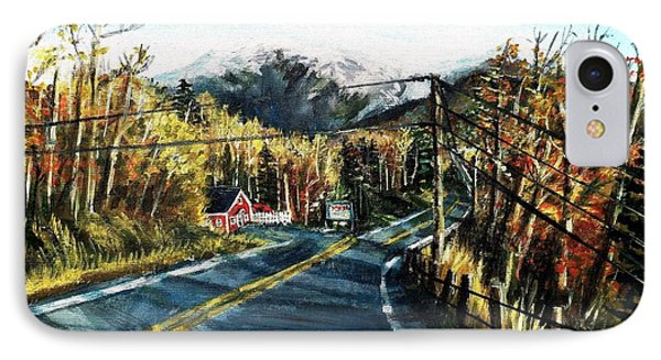 New England Drive IPhone Case by Shana Rowe Jackson