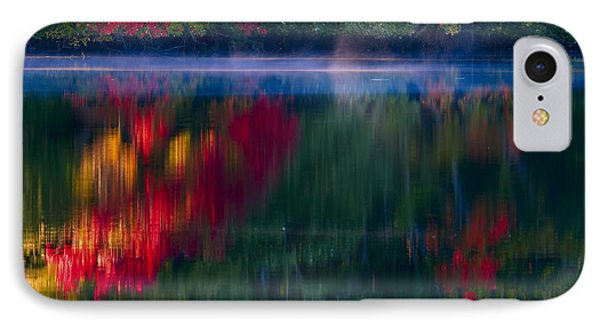 New England Fall Abstract Phone Case by Dapixara photos