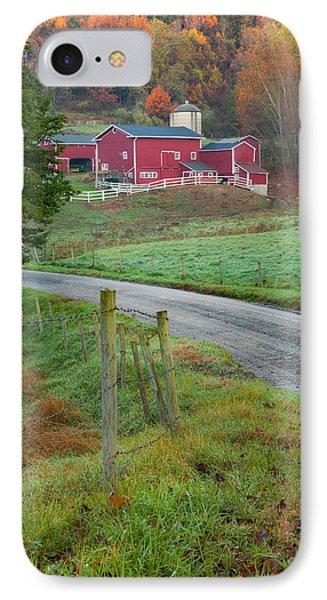 New England Farm Phone Case by Bill Wakeley