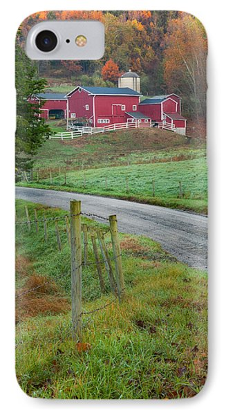 New England Farm IPhone Case by Bill Wakeley