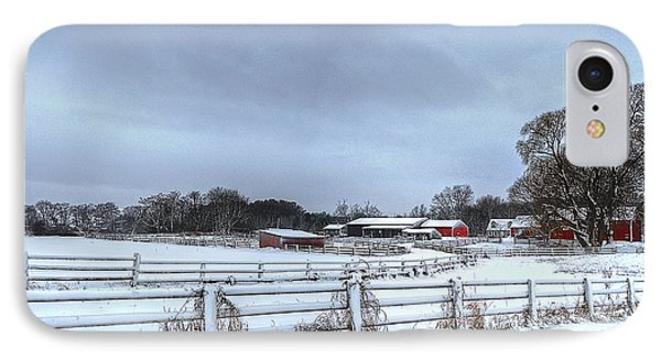 New England Farm IPhone Case by Rick Mosher