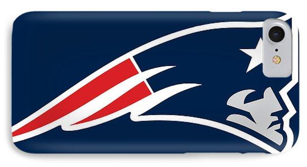 New England Patriots IPhone Case by Tony Rubino