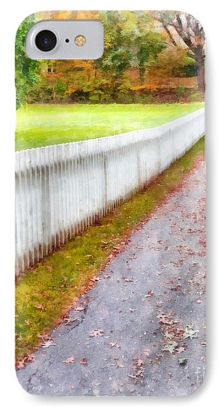 New England Picket Fence IPhone Case