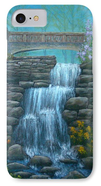 New England Waterfall Phone Case by Pamela Allegretto