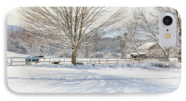 New England Winter Phone Case by Bill Wakeley