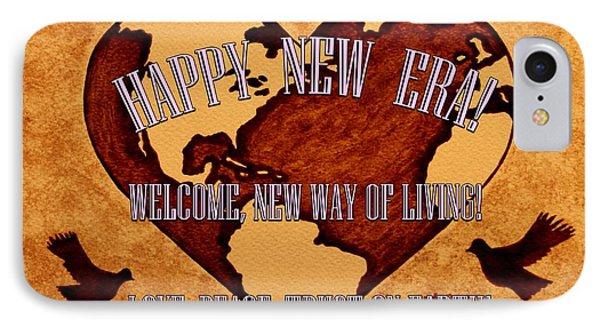 New Era On Earth A New Begining Phone Case by Georgeta  Blanaru