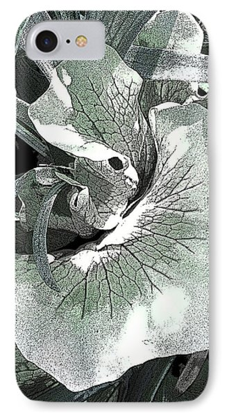 New Growth On The Staghorn IPhone Case by Angela Treat Lyon