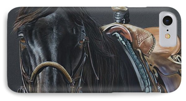 New Guy On The Job IPhone Case by Joni Beinborn