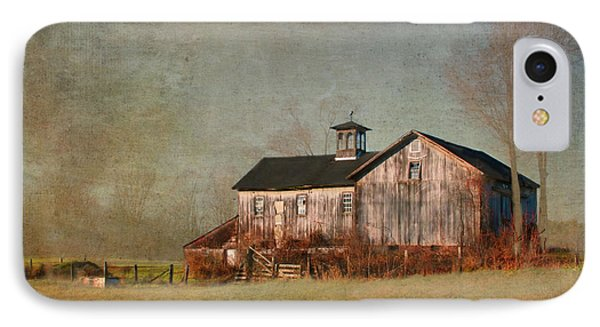New Hampshire Barn  IPhone Case by Betty  Pauwels