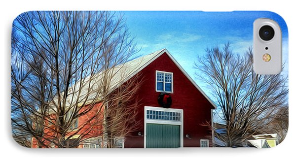 New Hampshire Farm IPhone Case by Tricia Marchlik
