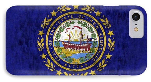 New Hampshire Flag IPhone Case