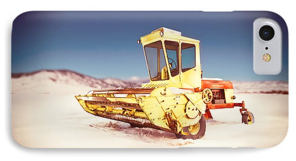 New Holland 910 Windrower IPhone Case by Yo Pedro