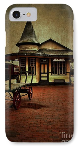 IPhone Case featuring the photograph New Hope Ivyland Train Station by Debra Fedchin