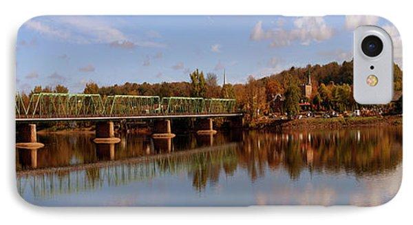 New Hope-lambertville Bridge, Delaware IPhone Case