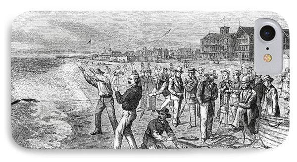 New Jersey Fishing, 1880 IPhone Case