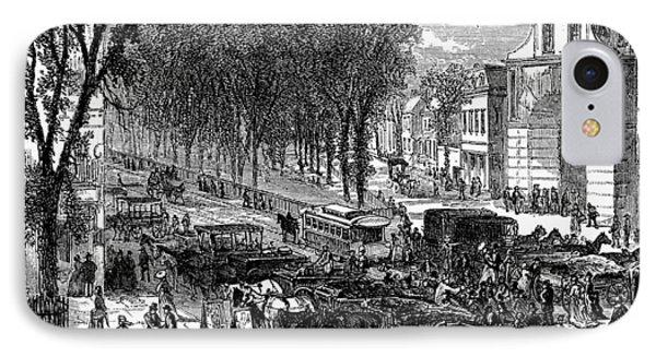 New Jersey Newark, 1876 Phone Case by Granger