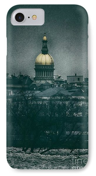 New Jersey State House IPhone Case by Nicola Fiscarelli