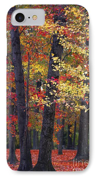 New Jersey's Reds IPhone Case by Marco Crupi
