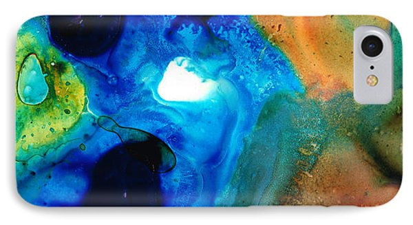 New Life - Abstract Landscape Art IPhone Case by Sharon Cummings