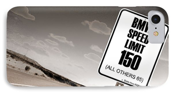 New Limits Sepia IPhone Case by David Jackson