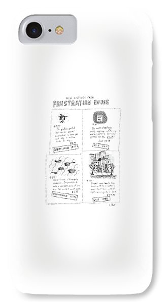 New Listings From Frustration House IPhone Case