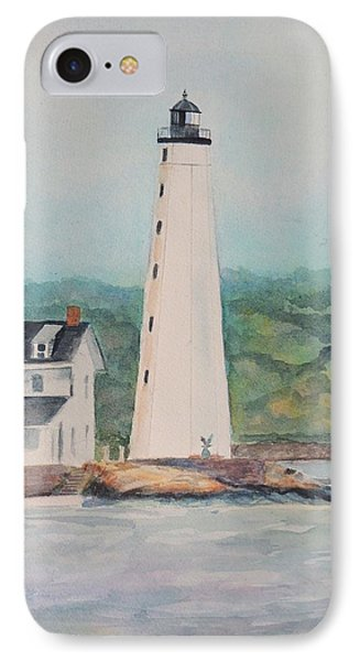 New London Harbor Lighthouse New London Ct IPhone Case
