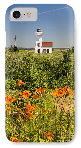 New London Range Rear Lighthouse IPhone Case by Elena Elisseeva