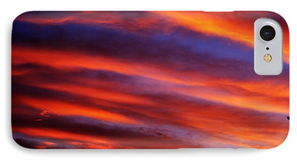 New Mexican Sunrise IPhone Case by Susanne Still