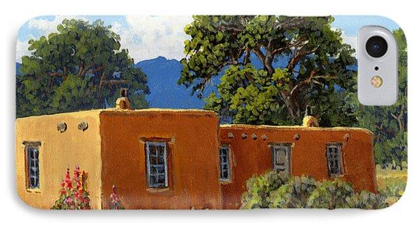 New Mexico Adobe IPhone Case by Randy Follis