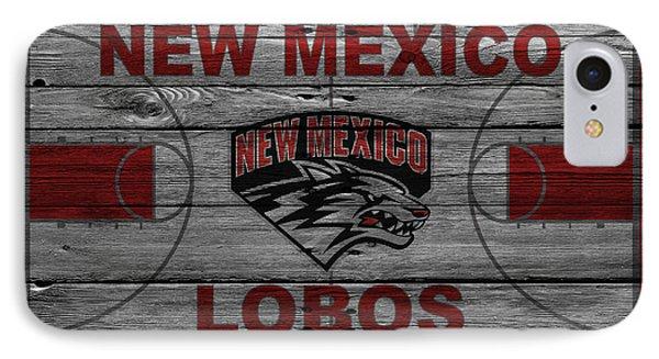 New Mexico Lobos IPhone Case by Joe Hamilton
