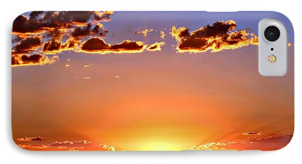 IPhone Case featuring the photograph New Mexico Sunset Glow by Barbara Chichester