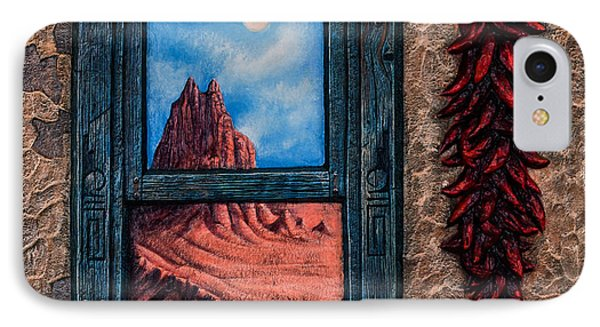New Mexico Window Gold IPhone Case