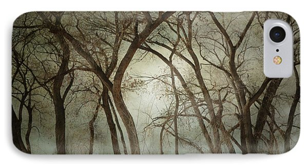 New Mexico Winter Woodland IPhone Case by Andrea Hazel Ihlefeld