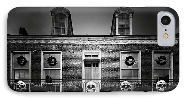 New Orleans- A Skull Paradise IPhone Case by Christine Till