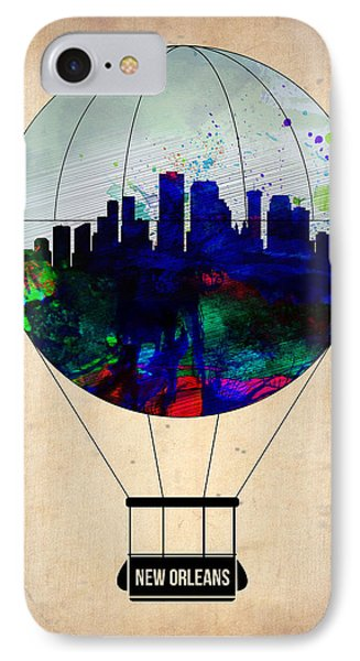 New Orleans Air Balloon IPhone Case by Naxart Studio